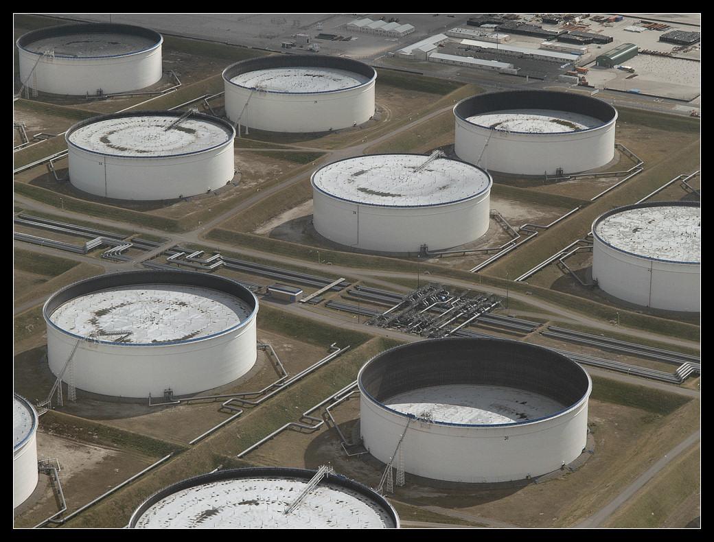 Olie opslagtank
